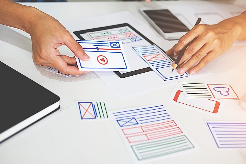 Diseño creativo de Web