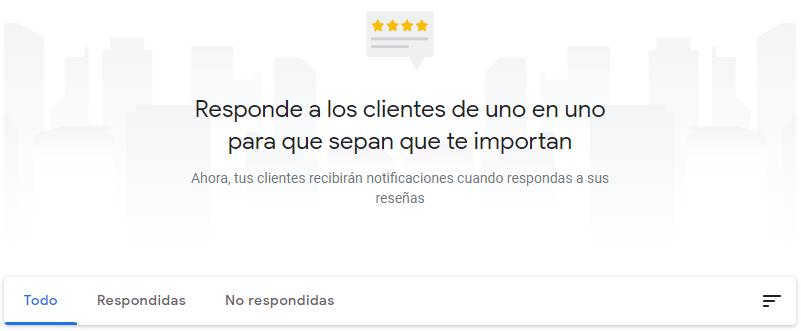 Responde a las reseñas de Google My Business