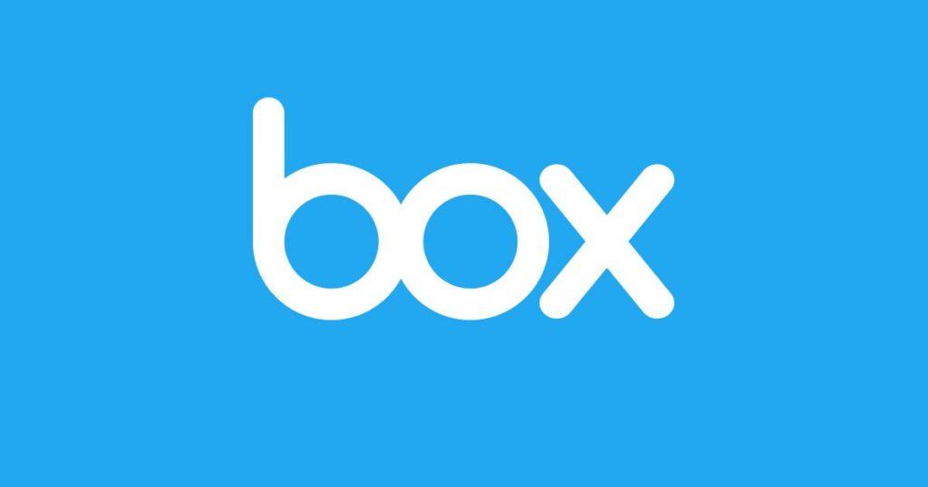 Logotipo de Box