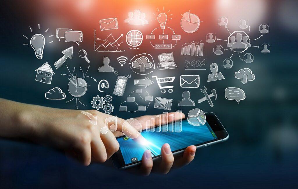 Aplicaciones PWA en un dispositivo móvil o smartphone